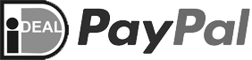 Betaal methoden iDEAL en Paypal